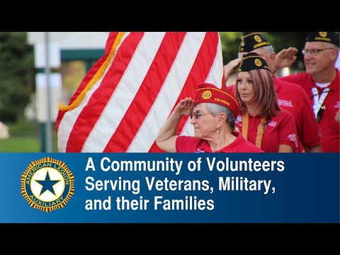 Embedded thumbnail for American Legion Auxiliary